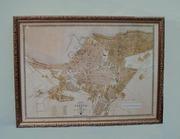 Старинный план Одессы