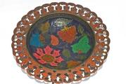 Продам индийское блюдо-конфетницу ручной работы,  с росписью.