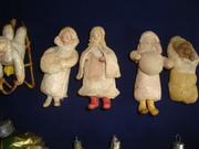 Продаю старинные ватные новогодние игрушки