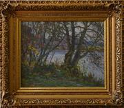 Работягов Н. П. Осенний пейзаж с рекой