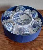 Сервиз синий дракон в подарочной коробке