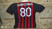 Футболка AC MILAN №80 Ronaldinho с автографами