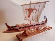 Модель корабля БІРЕМА
